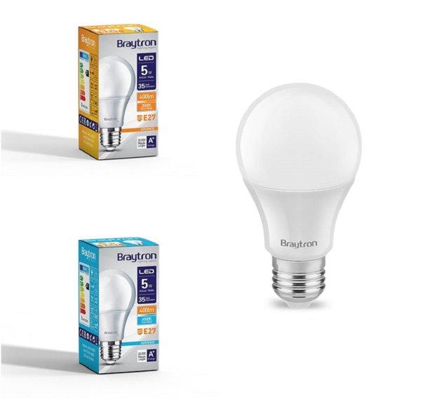 LED Leuchtmittel E27 5 Watt   A60   400 Lumen