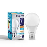 LED Leuchtmittel E27 5 Watt | A60 | 400 Lumen kaltweiß (6400 K)