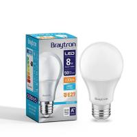 LED Leuchtmittel E27 8 Watt | A60 | 650 Lumen kaltweiß (6400 K)