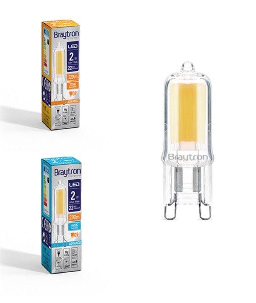 LED Leuchtmittel G9   2 Watt   230V   220 Lumen