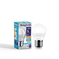 LED Leuchtmittel E27 5 Watt   Kugel G45   400 Lumen