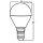 LED Leuchtmittel E14 Kugel P45 5 Watt   matt   400 Lumen
