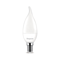 LED Leuchtmittel E14 Flamme C35T 5 Watt matt | 400 Lumen