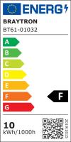 LED Flutlichtstrahler IP65 10 Watt kaltweiß (6400 K)