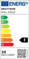 LED Flutlichtstrahler IP65 30 Watt kaltweiß (6400 K)