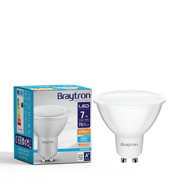 LED Leuchtmittel GU10 SMD 7W | 120° | 550 Lumen kaltweiß (6500 K)