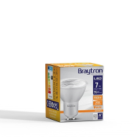 LED Leuchtmittel GU10 COB 7W | 38° | 550 Lumen warmweiß (3000 K)