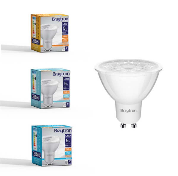 LED Leuchtmittel GU10 COB 5W | 38° | 360 Lumen