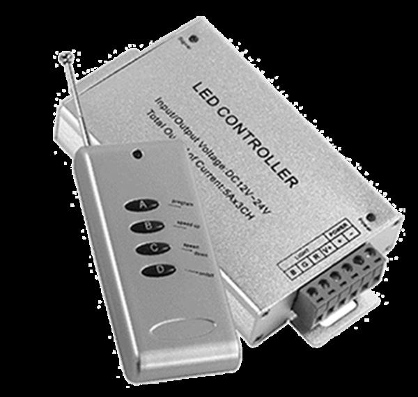 LED RGB Controller mit Funkfernbedienung 180 Watt | 12 VDC