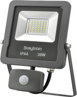 LED Flutlichtstrahler mit Bewegungsmelder IP44 30 Watt   2400 Lumen warmweiß (3000 K)