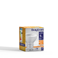 10er Sparpack | LED Leuchtmittel GU10 COB 5W | dimmbar | 38° | 360 Lumen