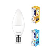 10er Sparpack | LED Leuchtmittel E14 Kerze C35 5 Watt matt | 380 Lumen