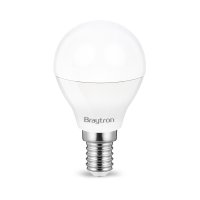 10er Sparpack | LED Leuchtmittel E14 Kugel P45 5 Watt | matt | 400 Lumen
