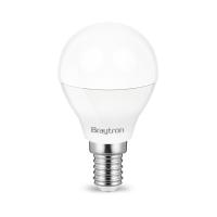 10er Sparpack | LED Leuchtmittel E14 Kugel P45 5 Watt matt | 380 Lumen