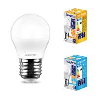 10er Sparpack | LED Leuchtmittel E27 5 Watt | Kugel G45 |...