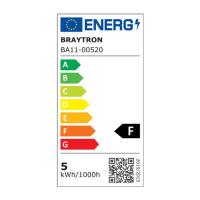 10er Sparpack | LED Leuchtmittel E27 5 Watt | Kugel G45 | 400 Lumen