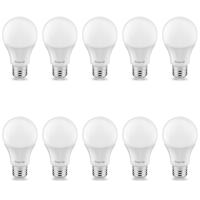 10er Sparpack | LED Leuchtmittel E27 5 Watt | A60 | 400...