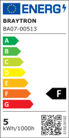10er Sparpack | LED Leuchtmittel E14 Flamme C35T 5 Watt matt | 400 Lumen