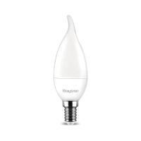 10er Sparpack   LED Leuchtmittel E14 Flamme C35T 5 Watt matt   400 Lumen warmweiß (3000 K)