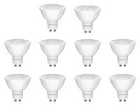 10er Sparpack | LED Leuchtmittel GU10 COB 5W | 38° |...
