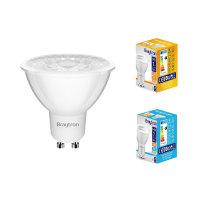 10er Sparpack | LED Leuchtmittel GU10 COB 7W | 38° |...