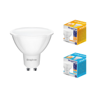 10er Sparpack | LED Leuchtmittel GU10 SMD 7W | 120° |...