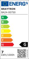 10er Sparpack | LED Leuchtmittel GU10 SMD 7W | 120° | 550 Lumen warmweiß (3000 K)