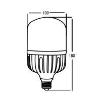 LED Leuchtmittel E27 30W | T100 | 2630 Lumen warmweiß (3000 K)