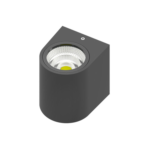 LED Wandleuchte RITA 1-flammig | anthrazit | 5 Watt