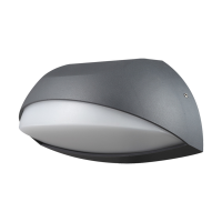 LED Wandleuchte Pirus S 7 Watt | anthrazit | IP54 |...