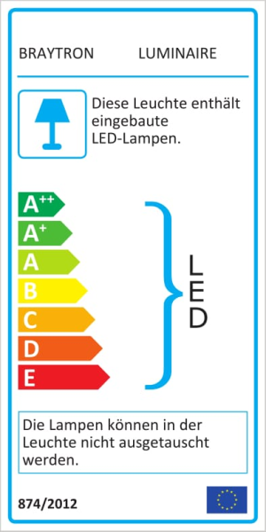 LED Modul | 1,2 Watt | 3 LEDs | 12 V | IP67 grün