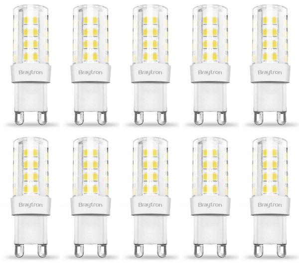 10er Sparpack | LED Leuchtmittel G9 | 5 Watt | 230V | 420 Lumen