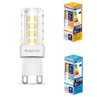 10er Sparpack | LED Leuchtmittel G9 | 5 Watt | 230V | 420...