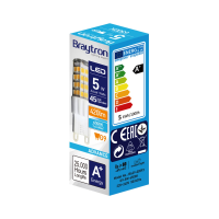 10er Sparpack   LED Leuchtmittel G9   5 Watt   230V   420 Lumen kaltweiß (6400 K)