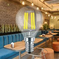 LED Leuchtmittel E14 Filament Kugel P45 4 Watt   400 Lumen   warmweiß (2700 K)