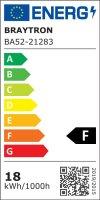 LED Tube G13 / T8 inkl. Starterbrücke 18 Watt   1800 Lumen   120cm