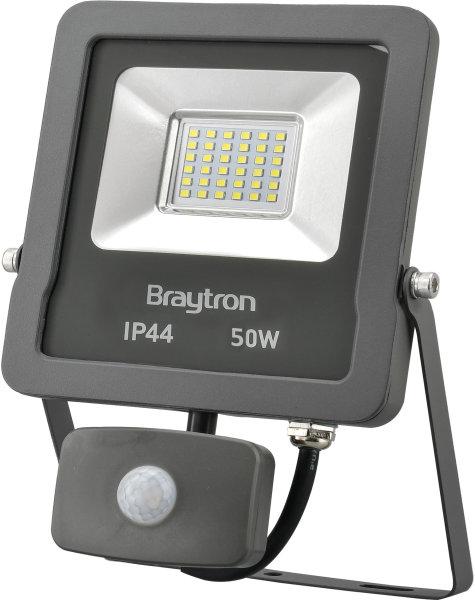 LED Flutlichtstrahler mit Bewegungsmelder IP44 50 Watt | 4000 Lumen
