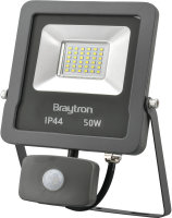 LED Flutlichtstrahler mit Bewegungsmelder IP44 50 Watt |...