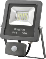 LED Flutlichtstrahler mit Bewegungsmelder IP44 50 Watt  kaltweiß (6500 K)