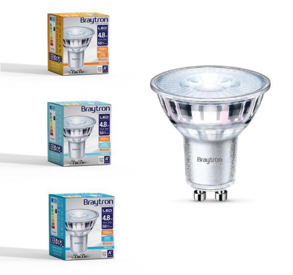 LED Leuchtmittel GU10 Glas 4,8 W | 350 Lumen