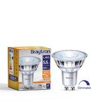 LED Leuchtmittel GU10 Glas 5,5 W | dimmbar | 360 Lumen |...
