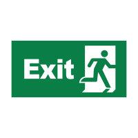 LED Notbeleuchtung | Notwegebeleuchtung | Notausgangsschild | Akkubetrieb | Exit