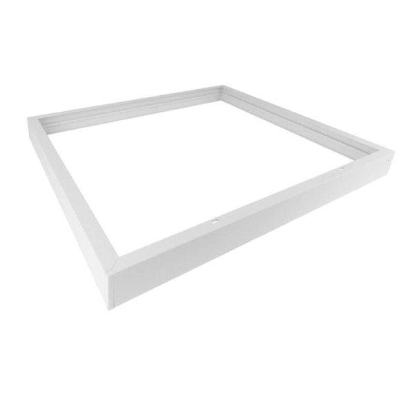 Aufbaurahmen für LED Panel 62 x 62 cm weiß