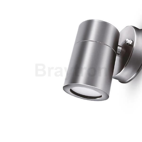 LED Wandleuchte RITA-S 1-flammig | Edelstahl | GU10