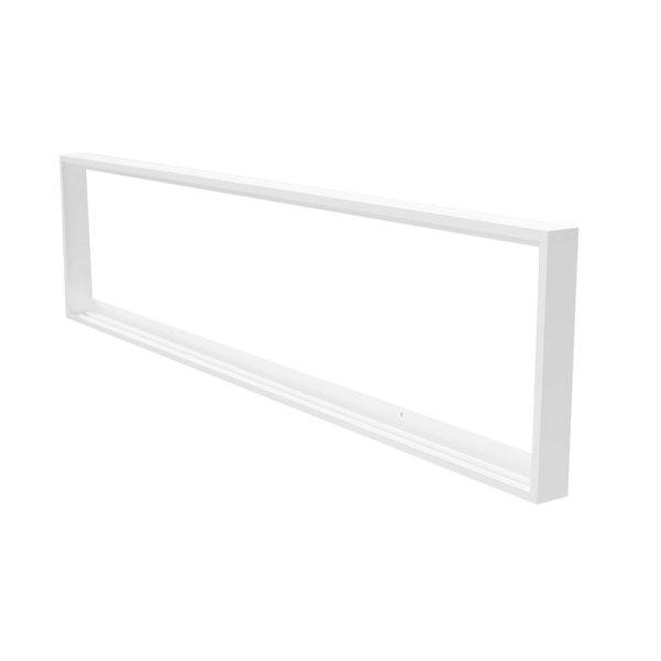 Aufbaurahmen für LED Panel 120 x 30 cm weiß