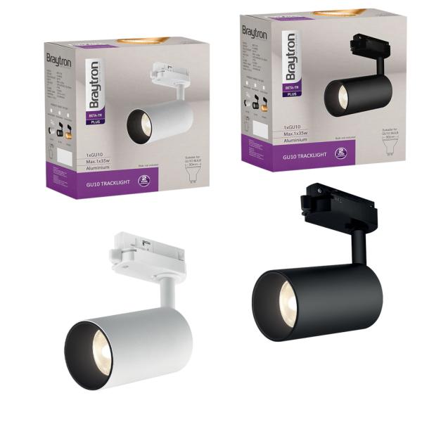 LED Schienen-Strahler Beta   GU10   3 Phasen   IP20