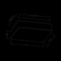 LED Deckenleuchte JADE S | 40W | 3020 Lumen | eckig | weiß